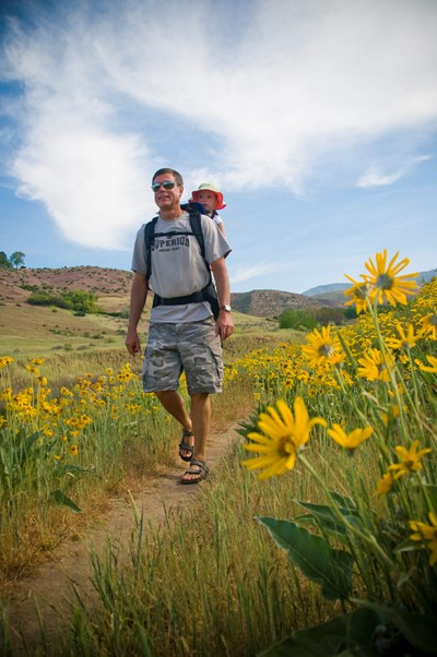 Hiking in the Boise Foothills